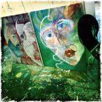 #Acryl #artpainting